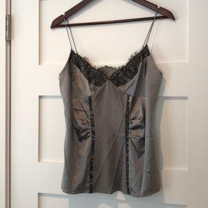 Diane von furstenberg silky lace camisole